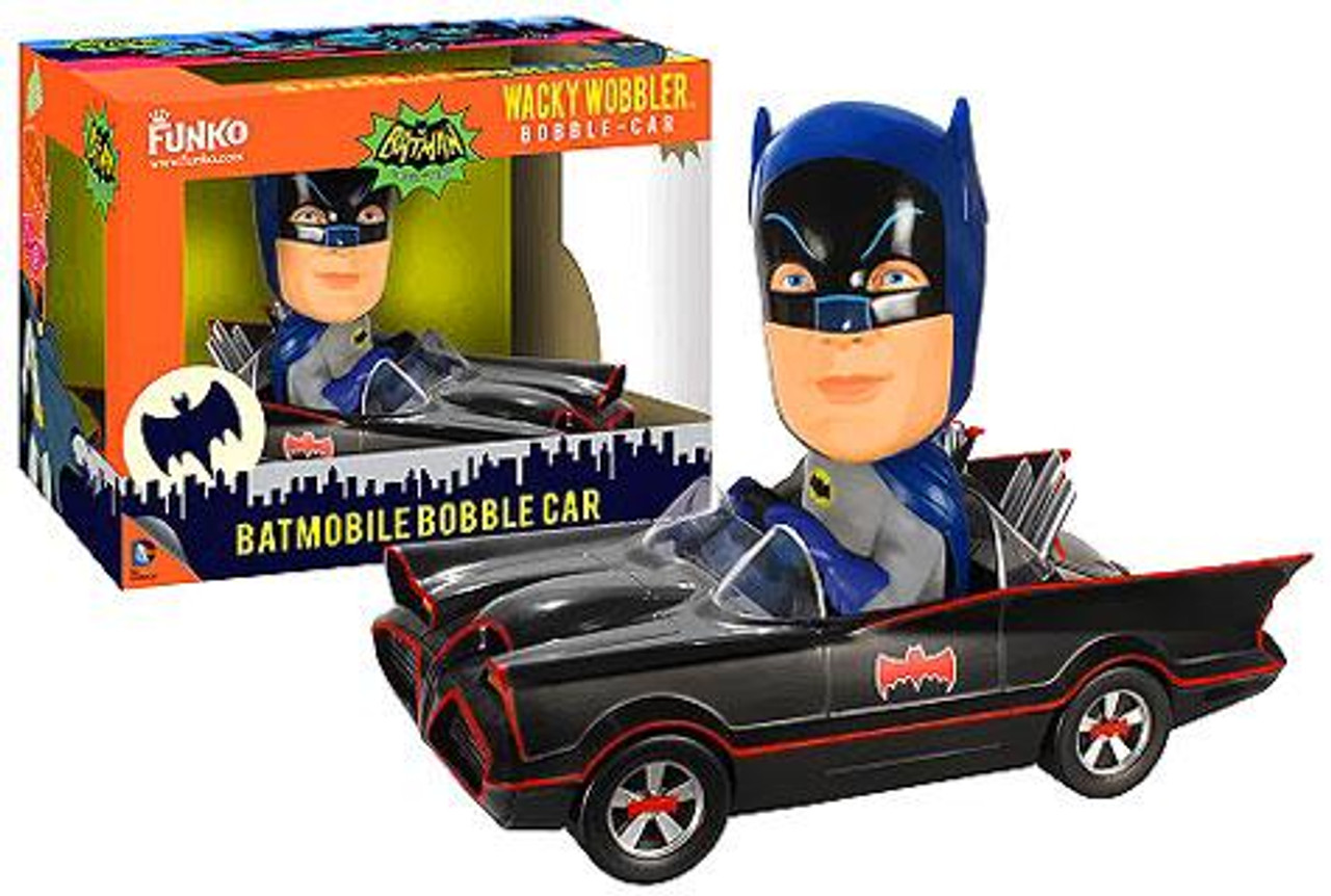 Funko Batman 1966 TV Series Wacky Wobbler Batmobile Bobble Car
