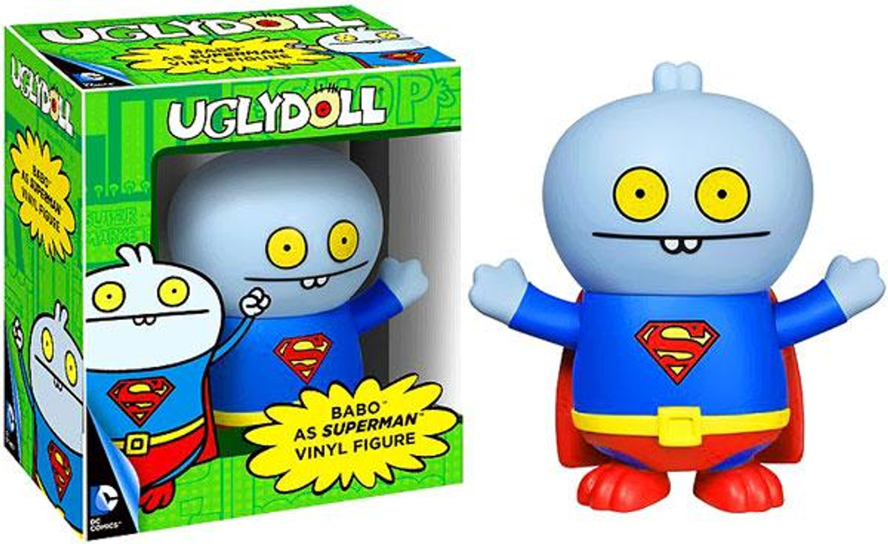 Funko DC Uglydoll Babo as Superman Vinyl Figure