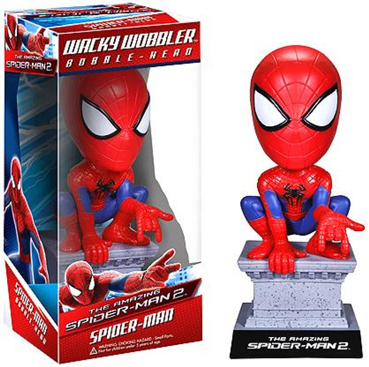 Funko The Amazing Spider-Man Wacky Wobbler Spider-Man Bobble Head [The Amazing Spider-Man 2]