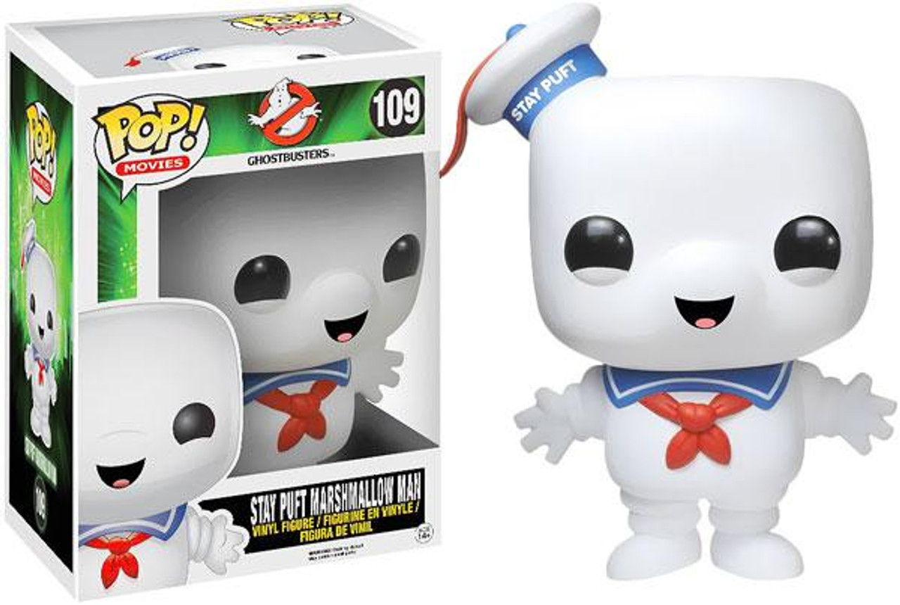 Ghostbusters Funko POP! Movies Stay Puft Marshmallow Man 6-Inch Vinyl Figure #109 [Super-Sized]