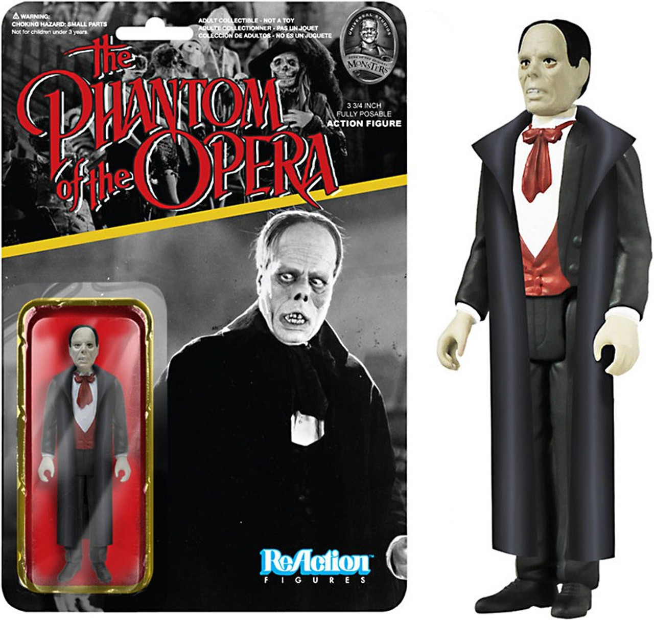 Funko Universal Monsters ReAction Phantom Action Figure