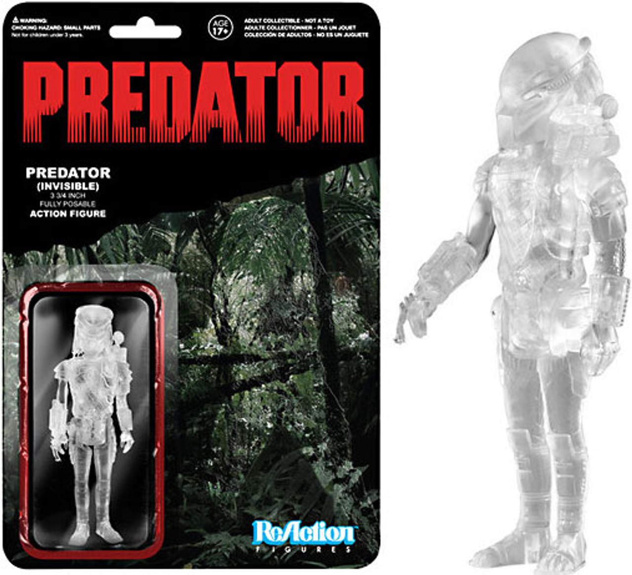 Funko ReAction Predator Action Figure [Invisible]