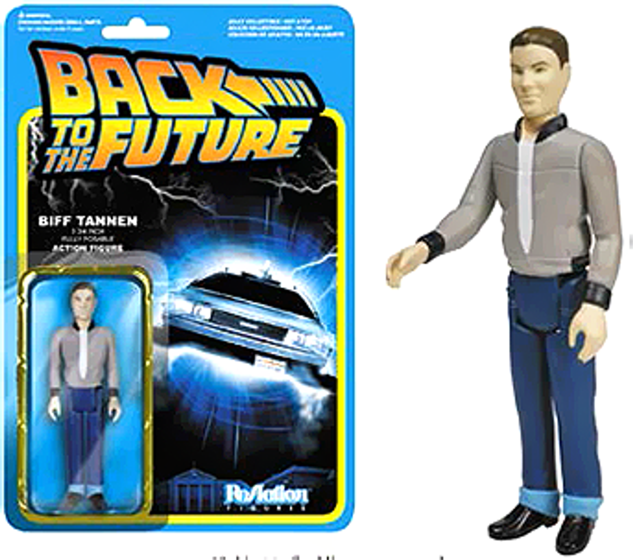 Funko Back to the Future ReAction Biff Tannen Action FIgure