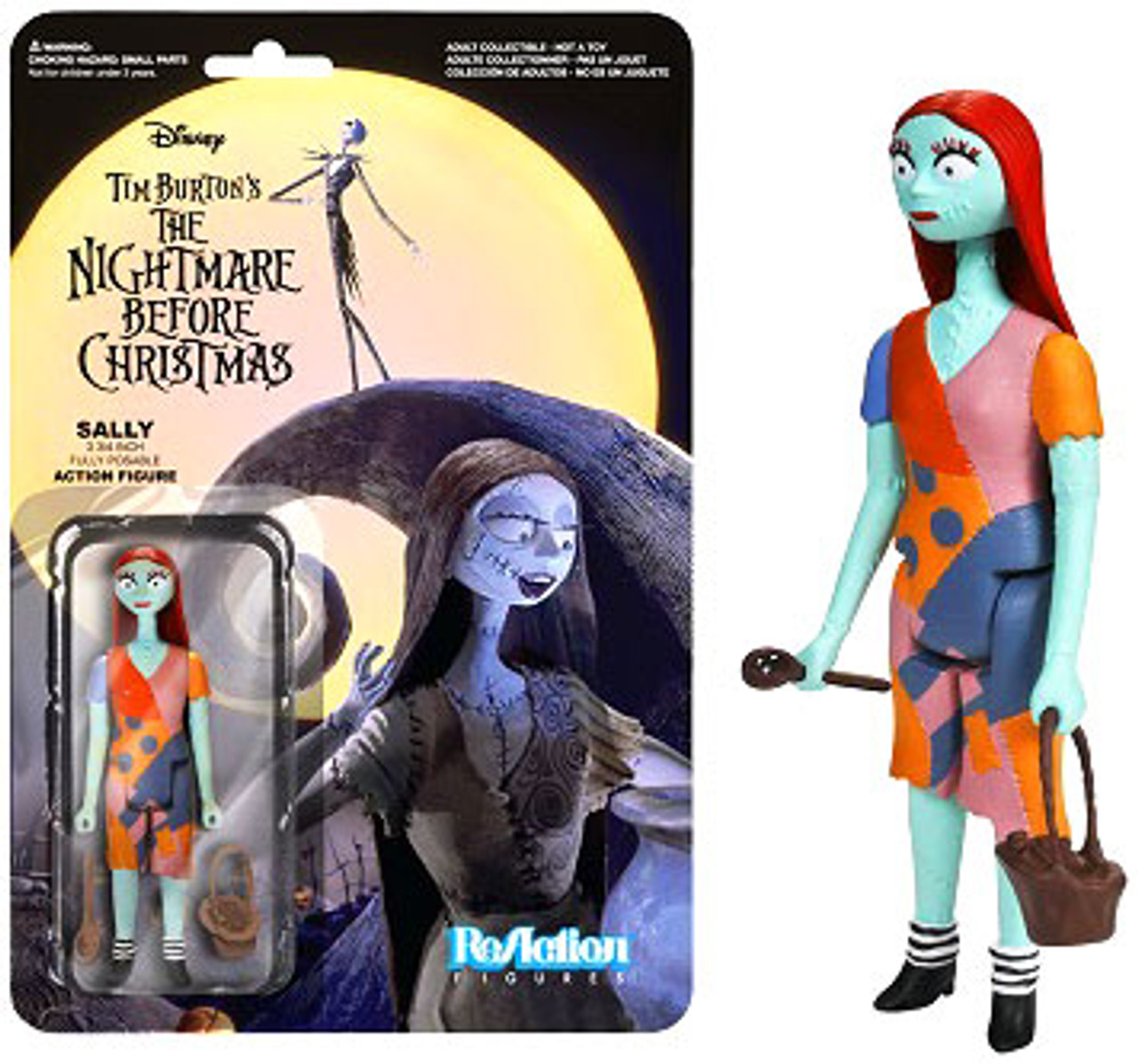 Funko The Nightmare Before Christmas ReAction Sally Action Figure