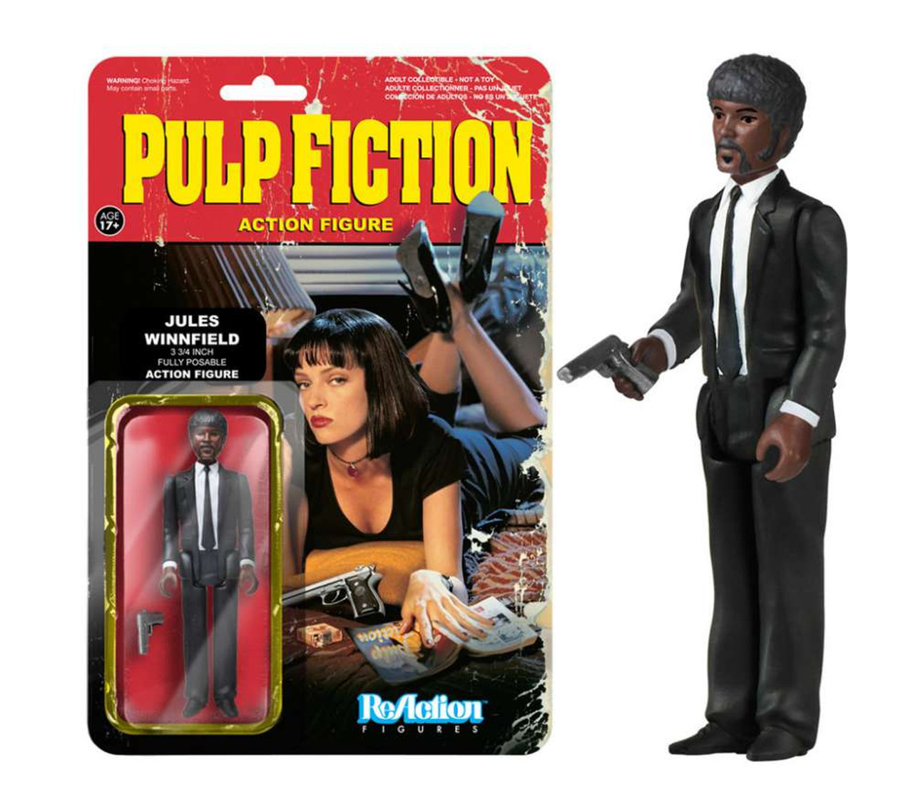 Funko Pulp Fiction ReAction Jules Winnifield Action Figure