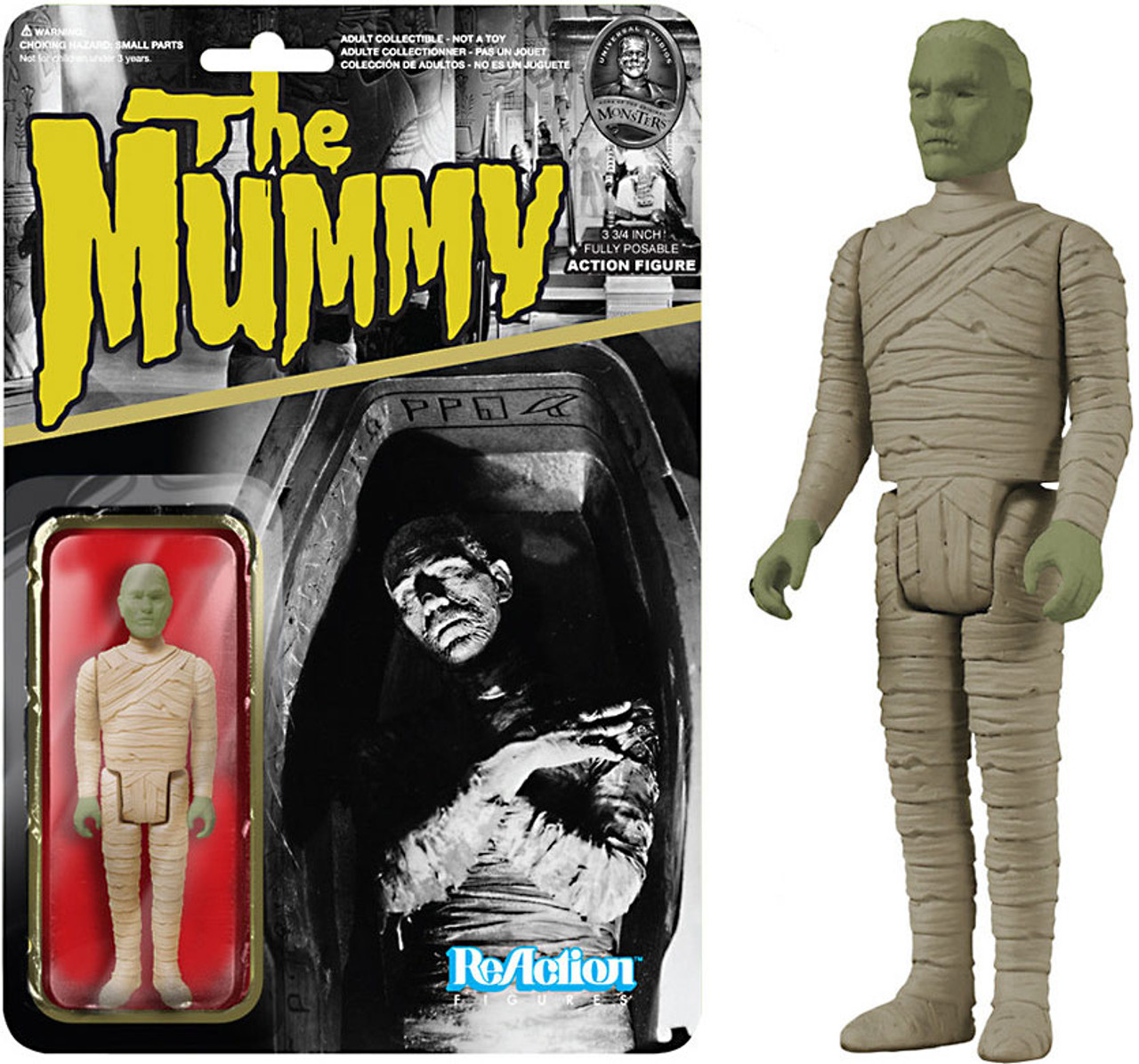 Funko Universal Monsters ReAction Mummy Action Figure