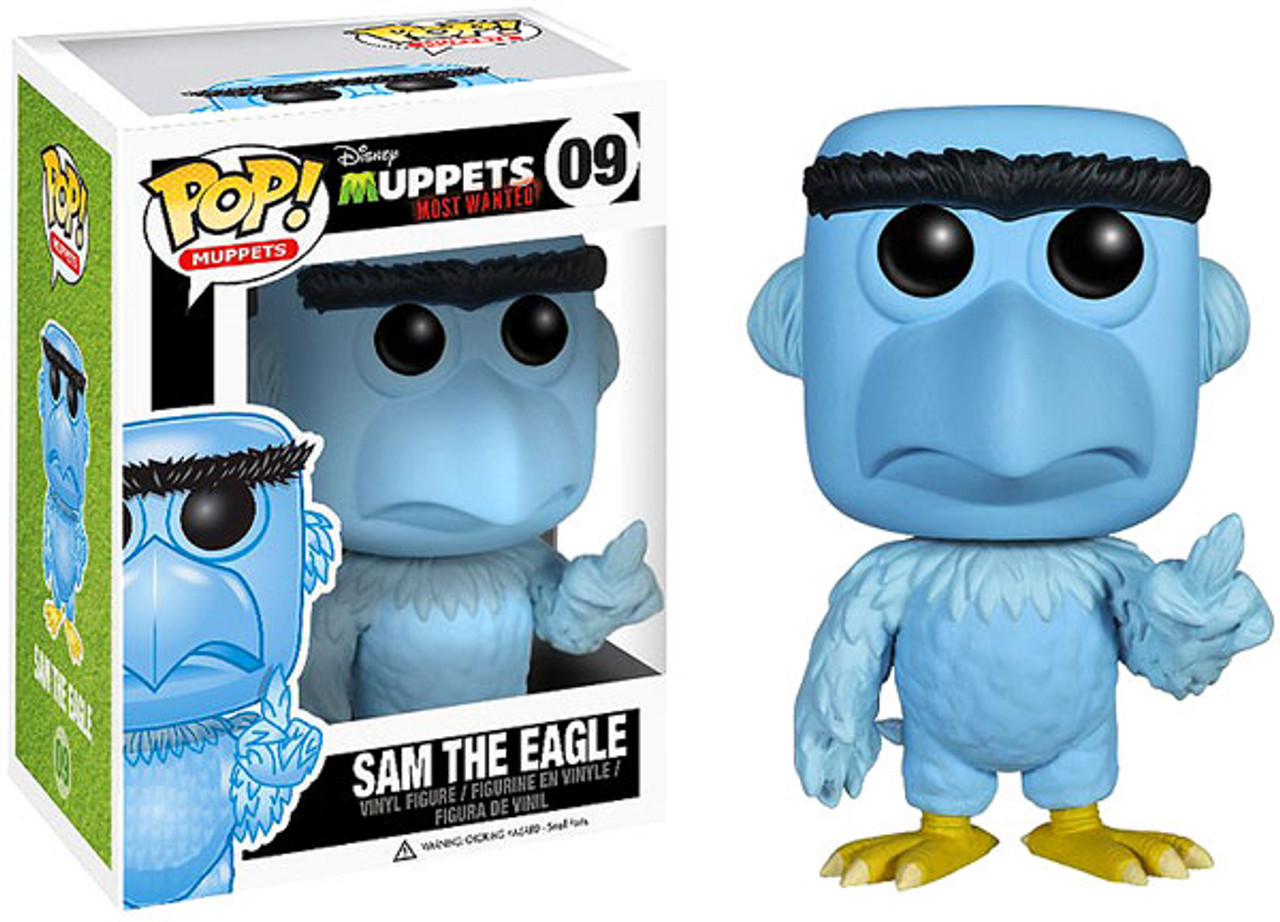 The Muppets Muppets Most Wanted Funko POP! TV Sam the Eagle Vinyl Figure #09
