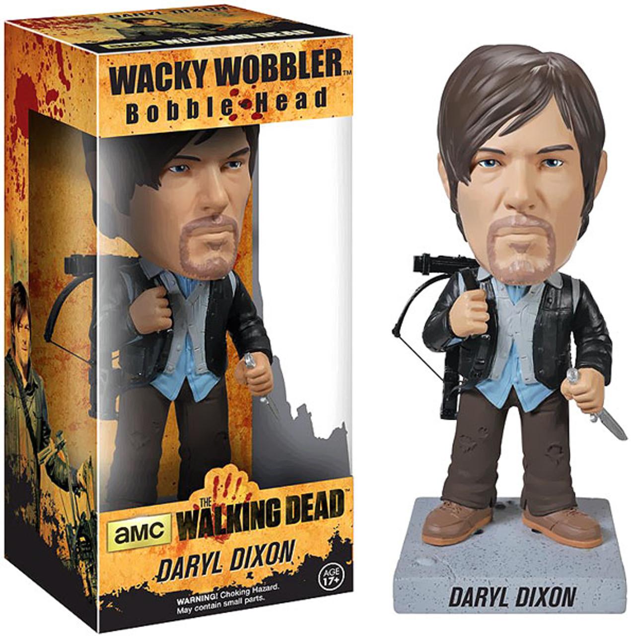 Funko Walking Dead Wacky Wobbler Daryl Dixon Bobble Head [Biker ]