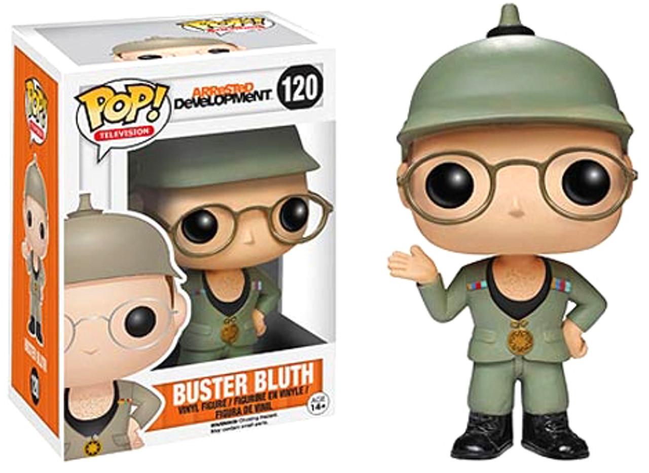 Arrested Development Funko POP! TV Buster Bluth Vinyl Figure #120 [Good Grief Version]
