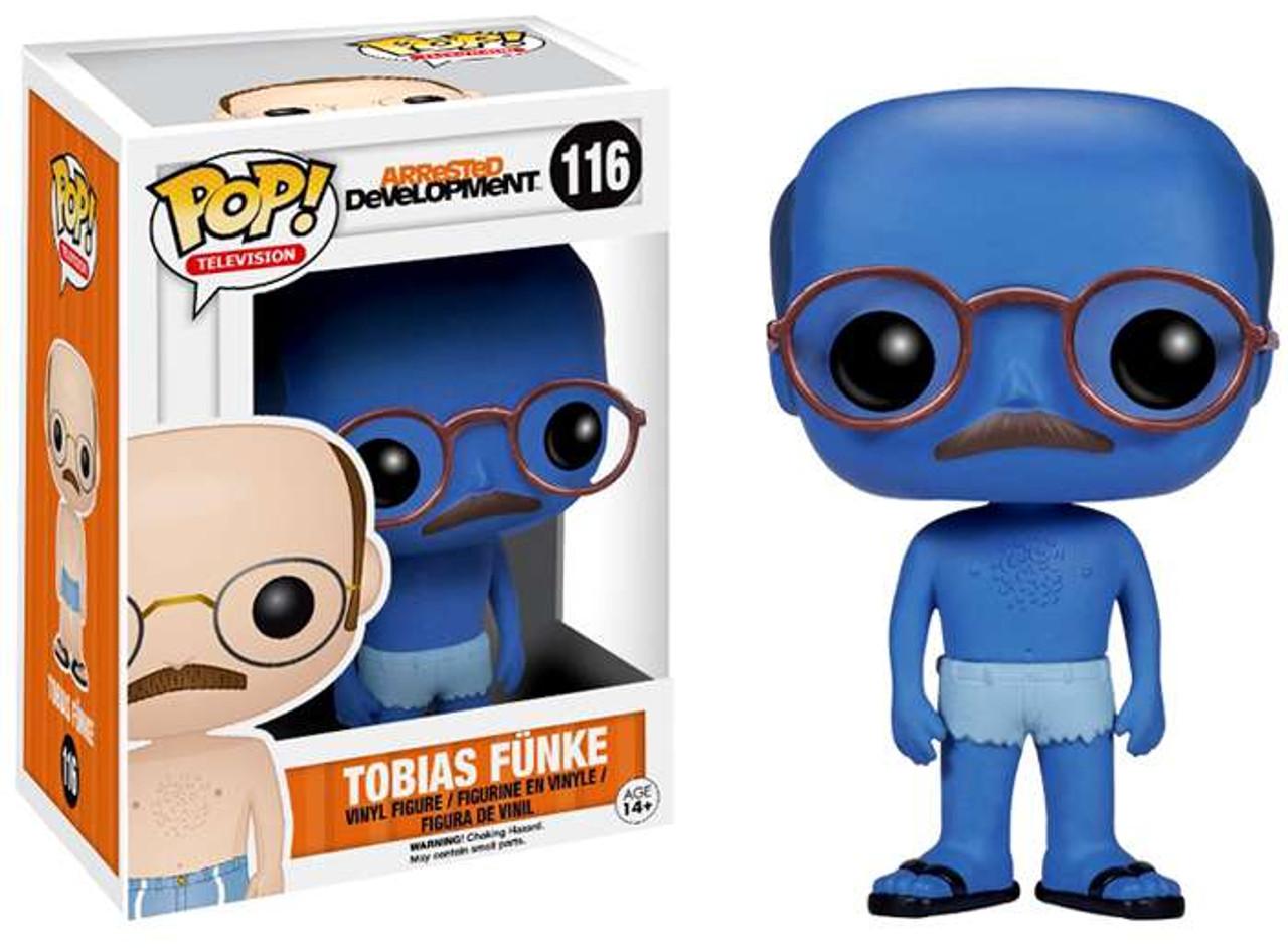 Arrested Development Funko POP! TV Tobias Funke Vinyl Figure #116 [Blue Man Chase Version]