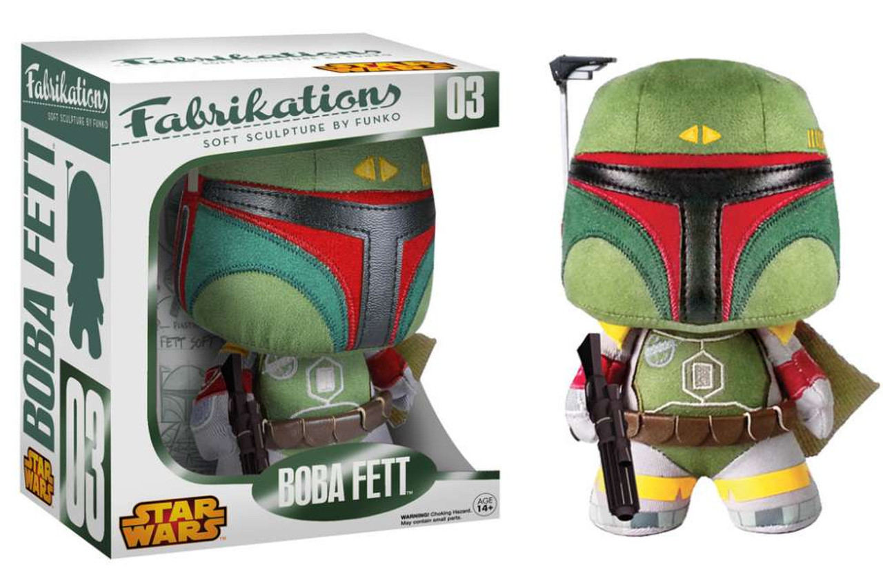 Star Wars Funko Fabrikations Boba Fett Plush #03