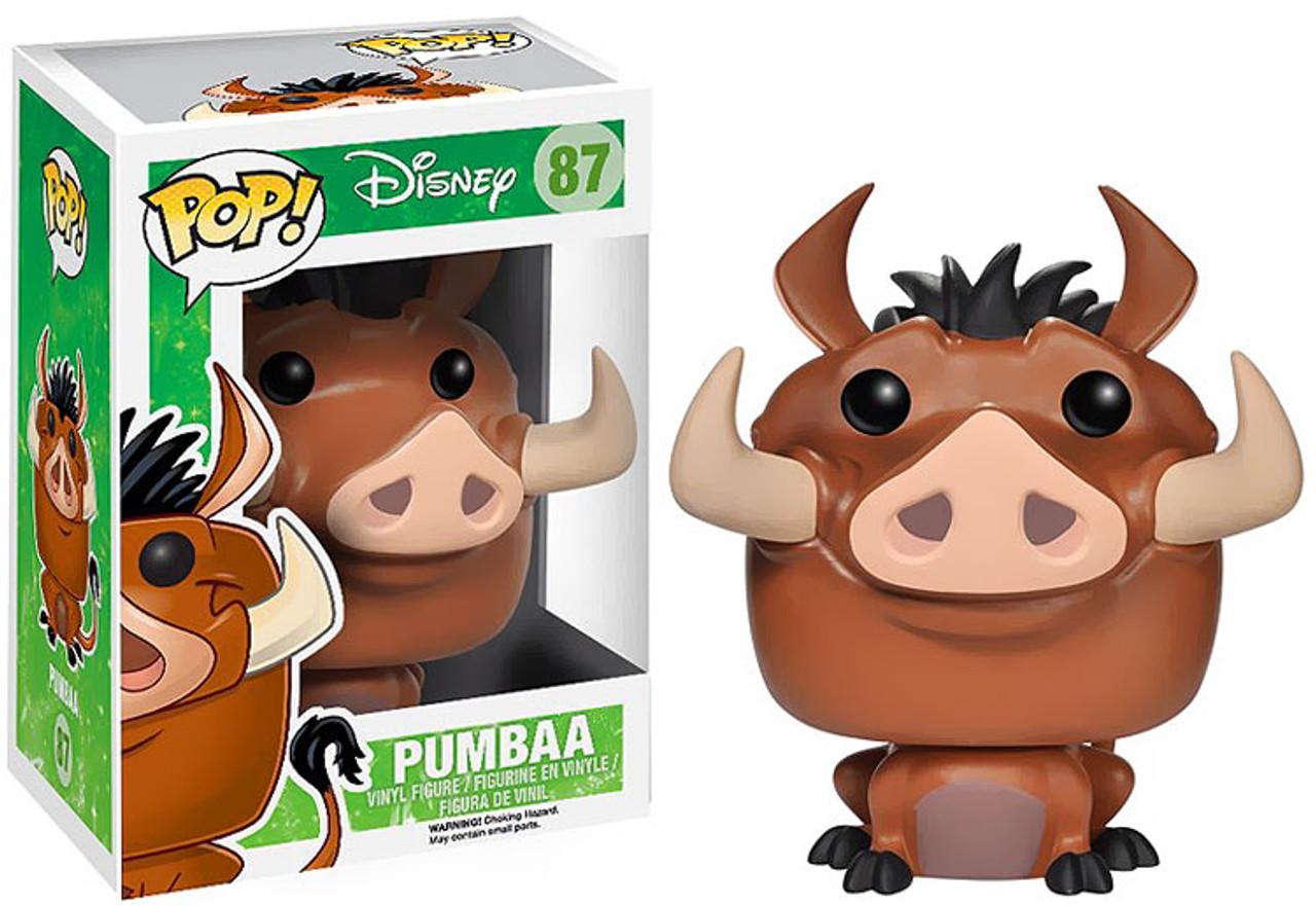 The Lion King Funko POP! Disney Pumbaa Vinyl Figure #87