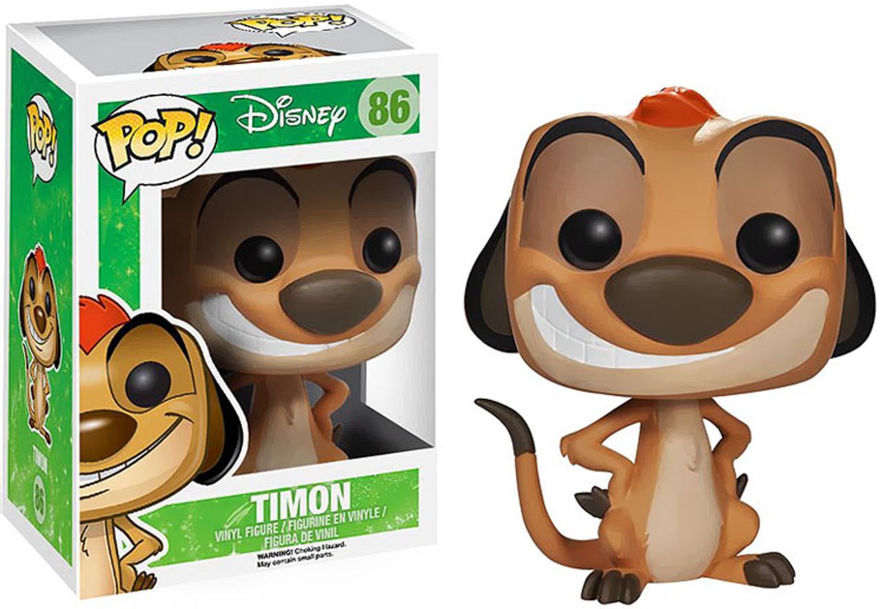 The Lion King Funko POP! Disney Timon Vinyl Figure #86