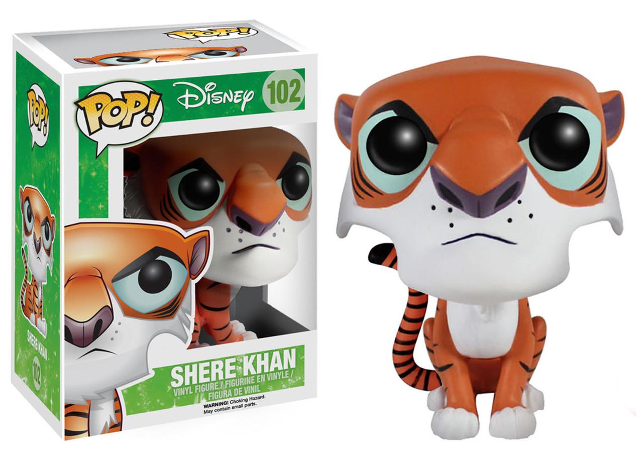 The Jungle Book Funko POP! Disney Shere Khan Vinyl Figure #102