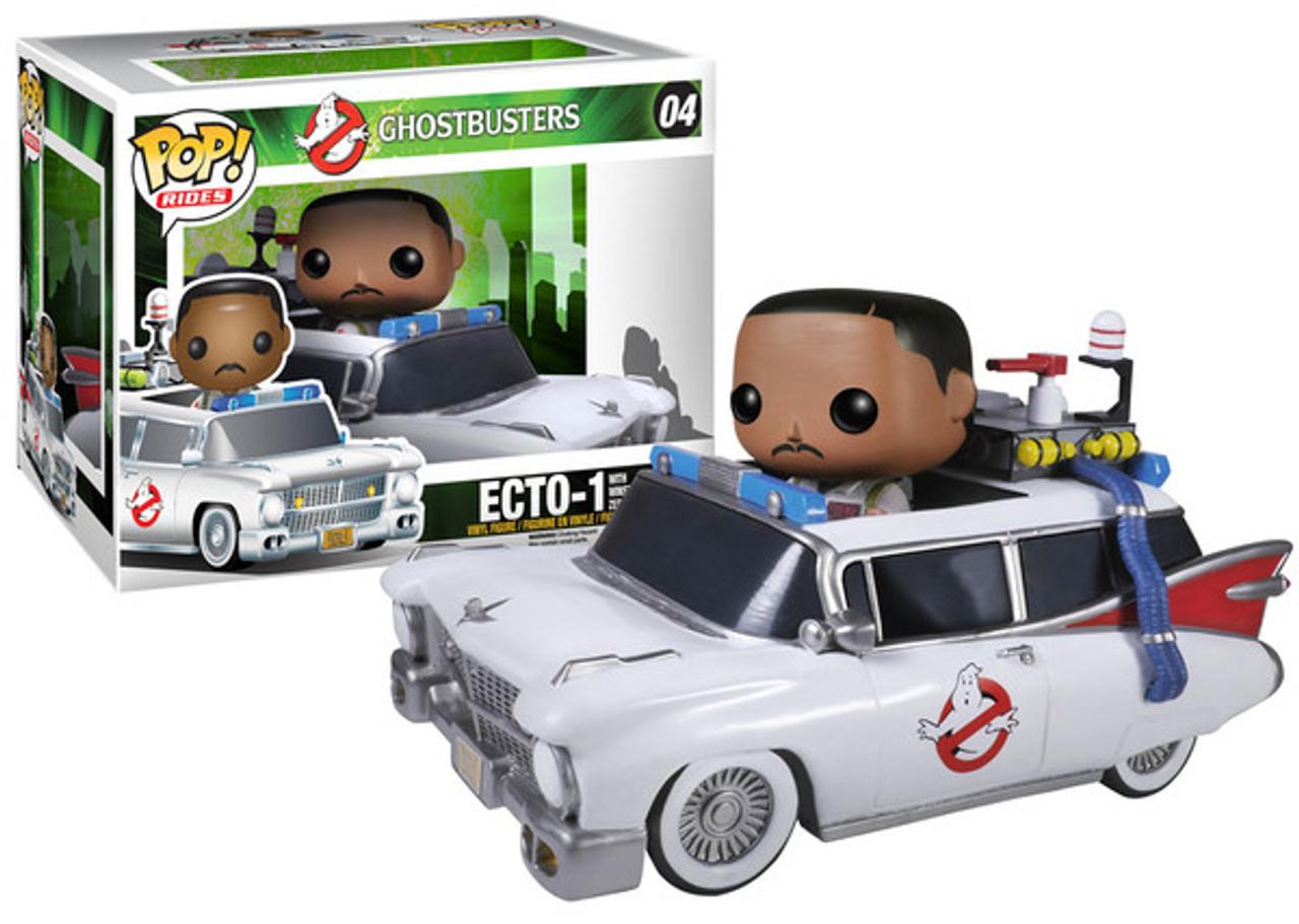 Ghostbusters Funko POP! Movies Ecto-1 with Winston Zeddmore Vinyl Figure #04