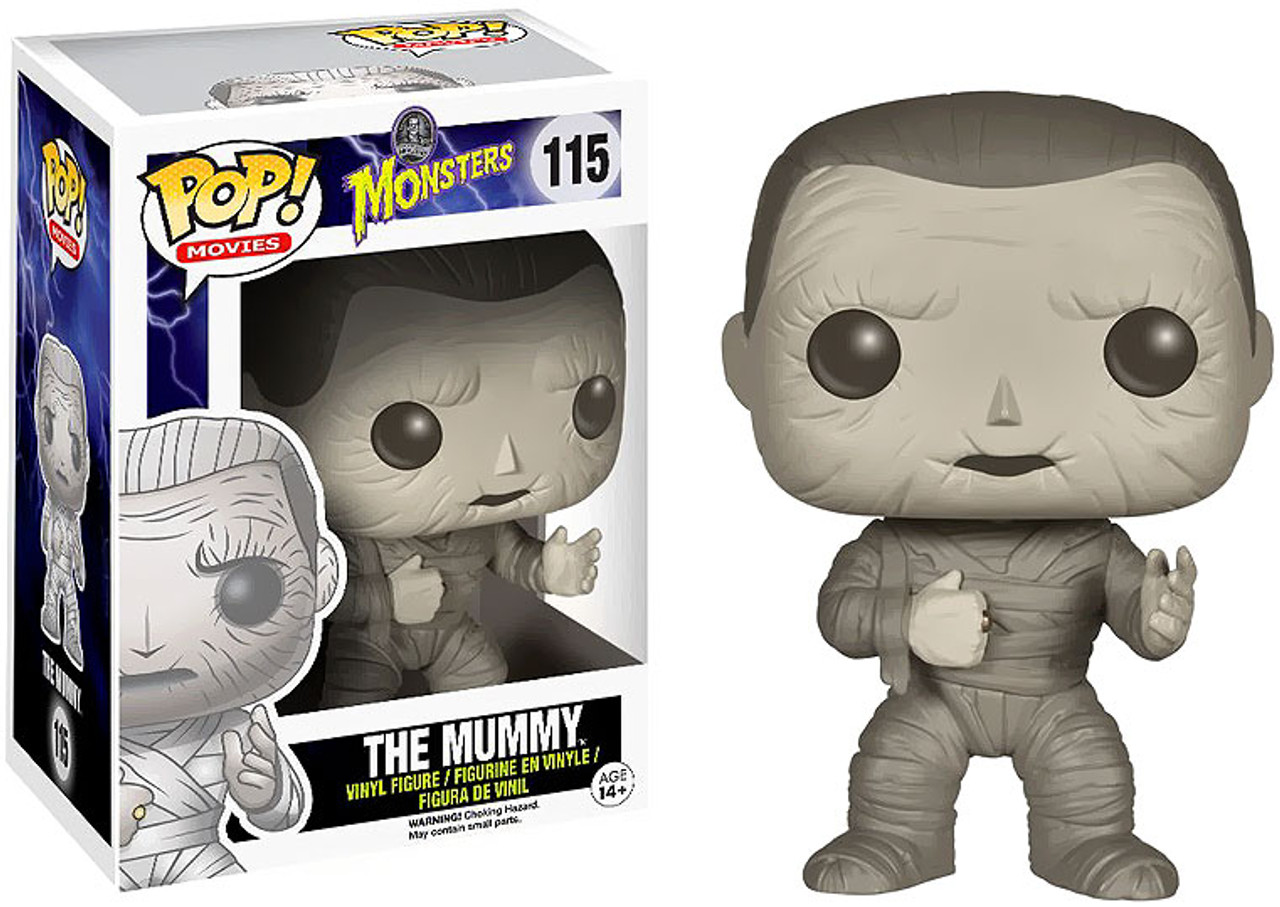 Universal Monsters Funko POP! Movies The Mummy Vinyl Figure #115