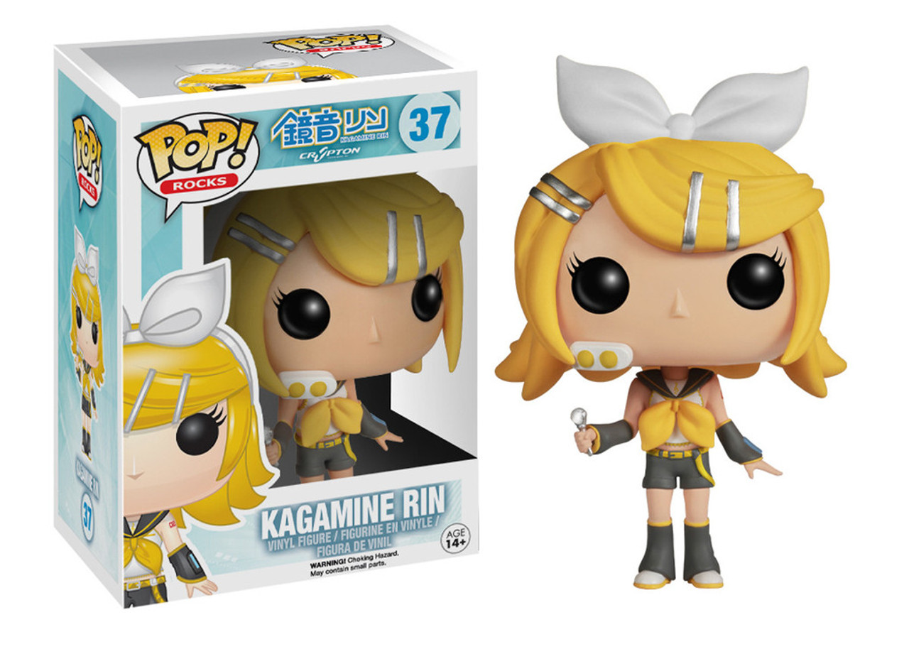 Vocaloid Funko POP! Rocks Kagamine Rin Vinyl Figure #37