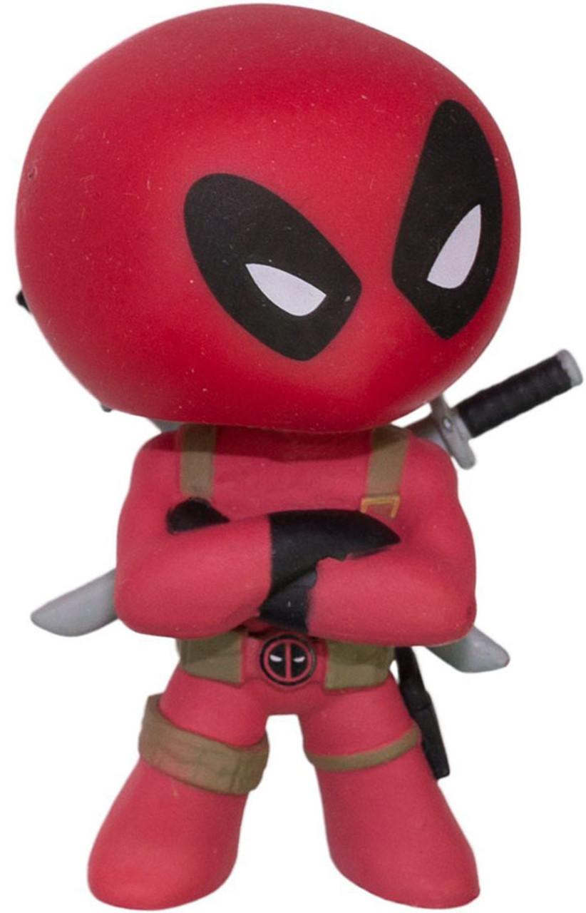 Funko Marvel Series 1 Mystery Minis Deadpool Minifigure [Loose]