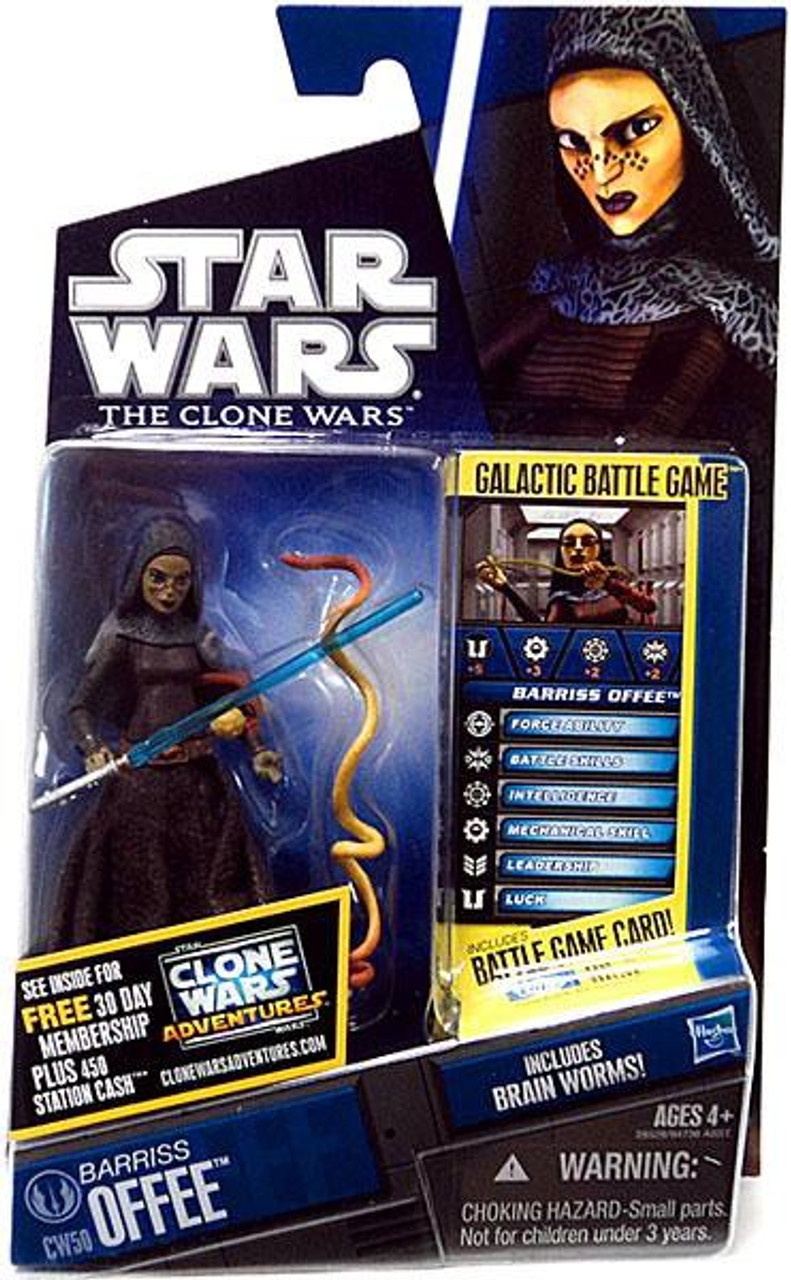 Star Wars The Clone Wars Clone Wars 2011 Barriss Offee Action Figure CW50