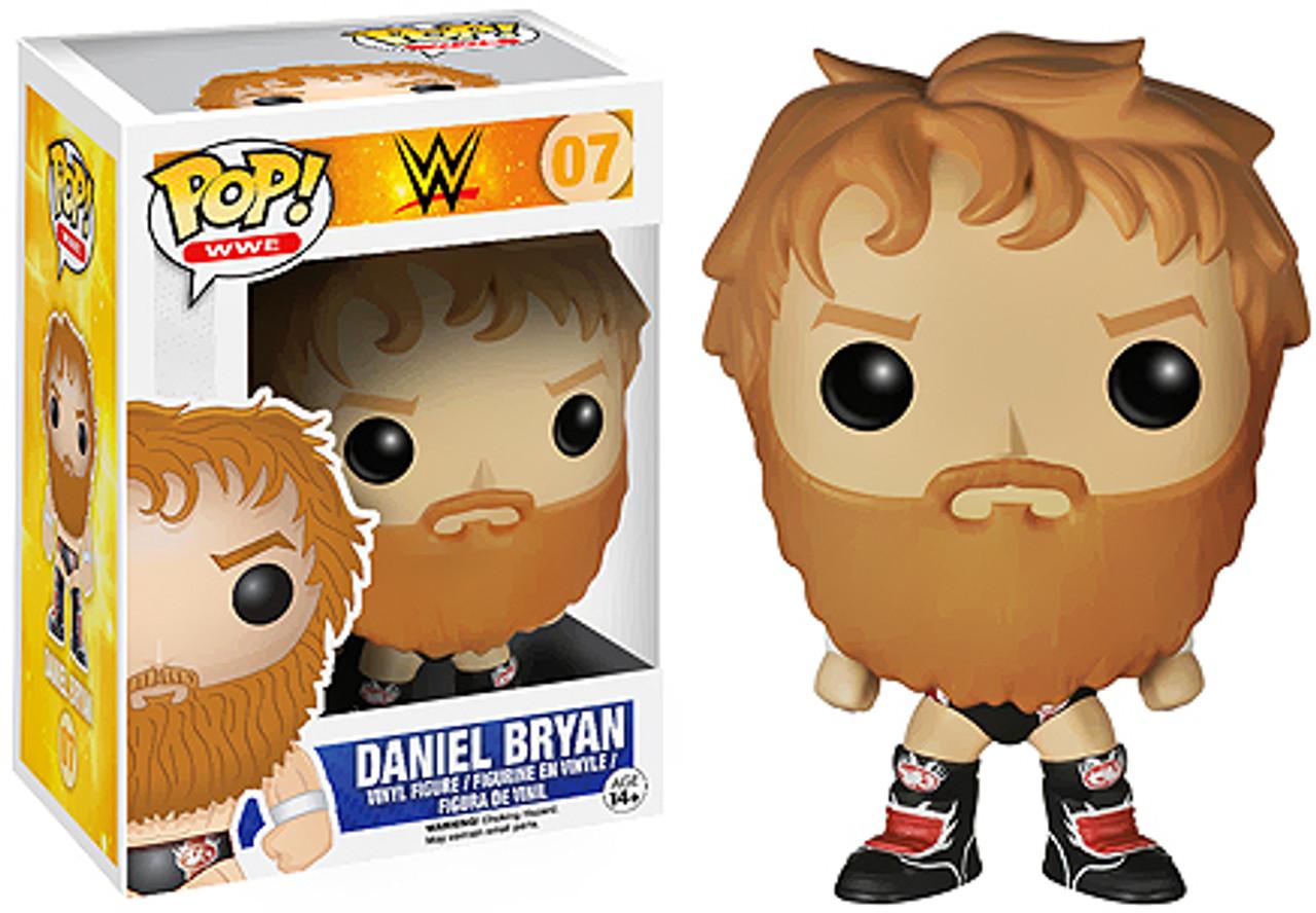 WWE Wrestling Funko POP! Daniel Bryan Vinyl Figure #07 [Black Boots]