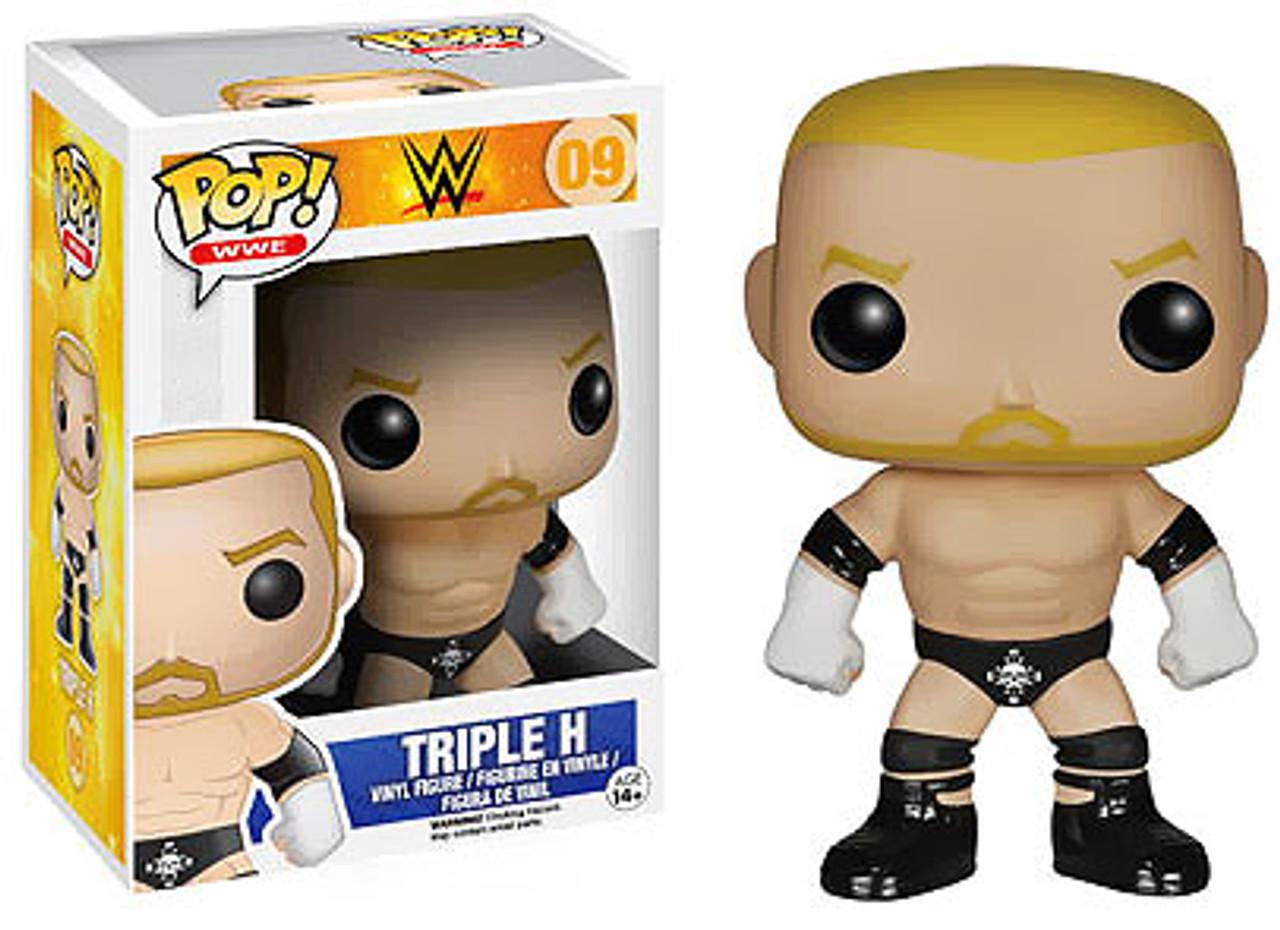 WWE Wrestling Funko POP! Triple H Vinyl Figure #09