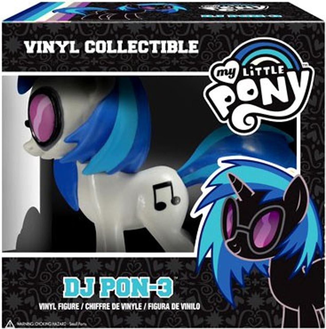 Funko My Little Pony Vinyl Collectibles DJ Pon-3 Vinyl Figure