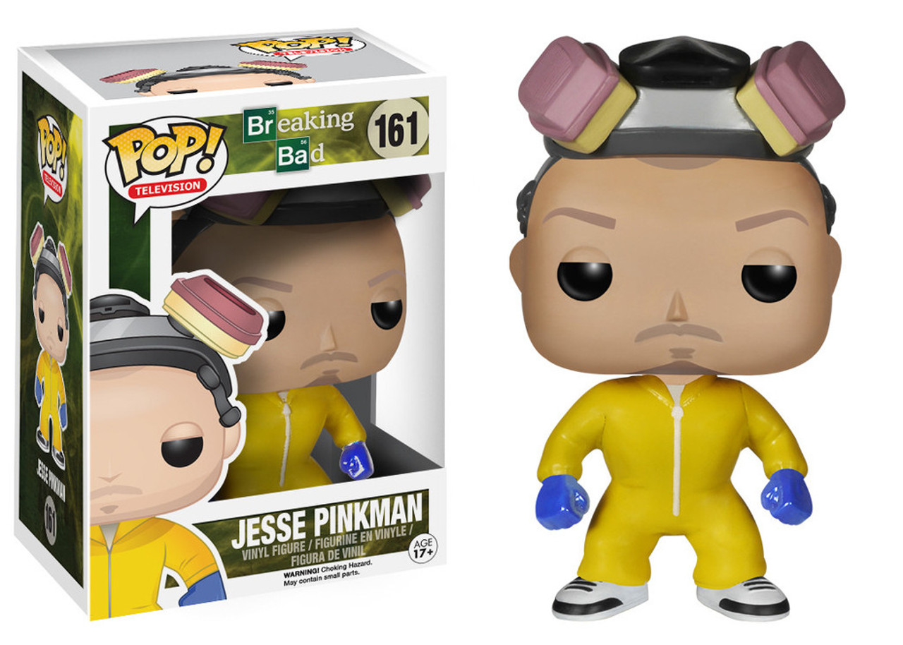 Breaking Bad Funko POP! TV Jesse Pinkman Vinyl Figure #161 [Yellow Hazmat Suit]