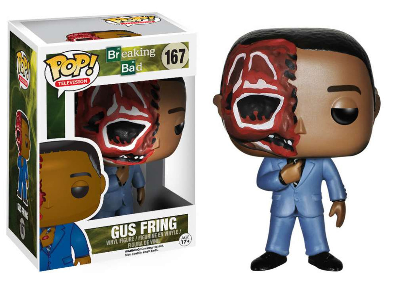 Breaking Bad Funko POP! TV Gus Fring Vinyl Figure #167 [Burnt Face]