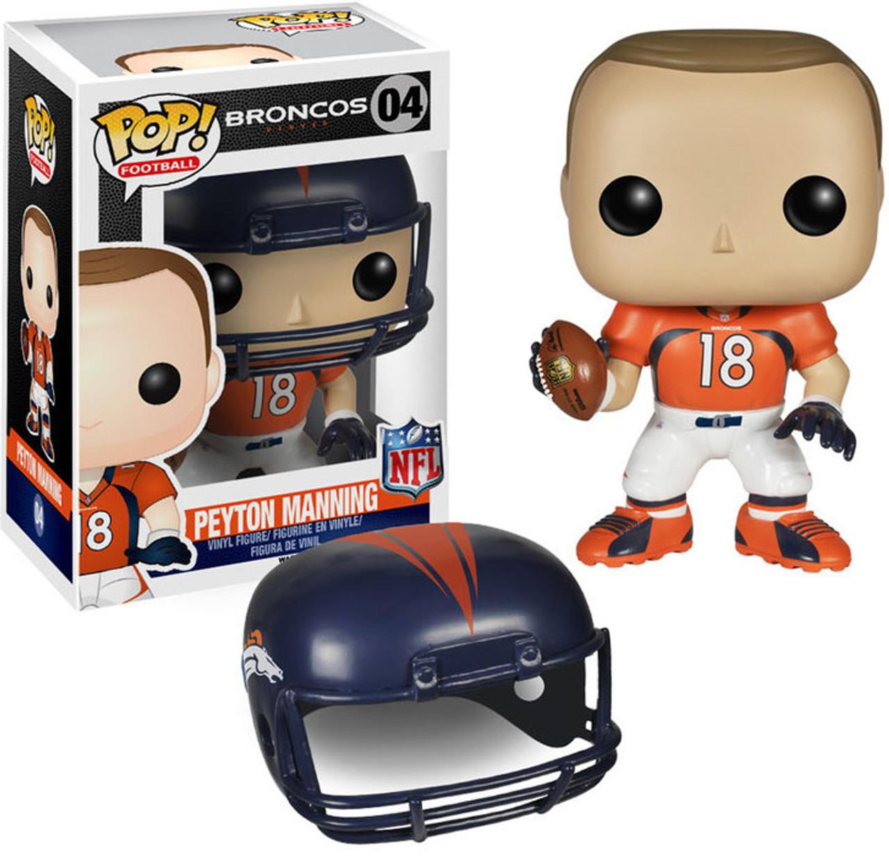 Funko NFL Denver Broncos Funko POP Sports Peyton Manning Vinyl Figure 04 ToyWiz