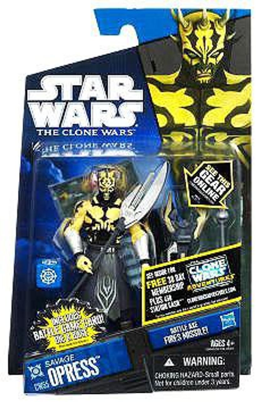 Star Wars The Clone Wars Clone Wars 2011 Savage Opress Action Figure CW55 [Shirtless]
