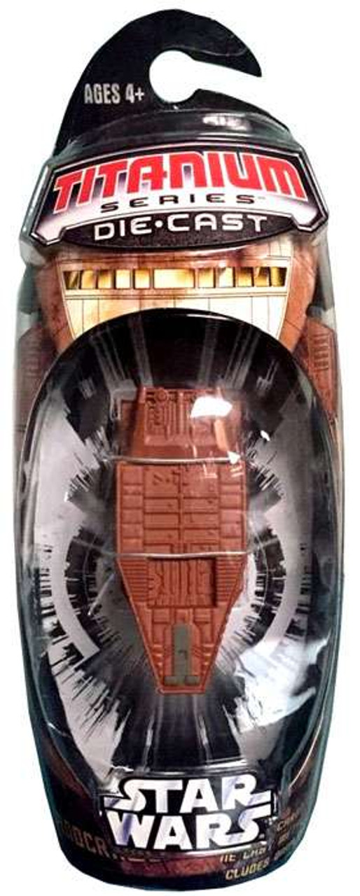 Star Wars A New Hope Titanium Series 2006 Sandcrawler Diecast Vehicle