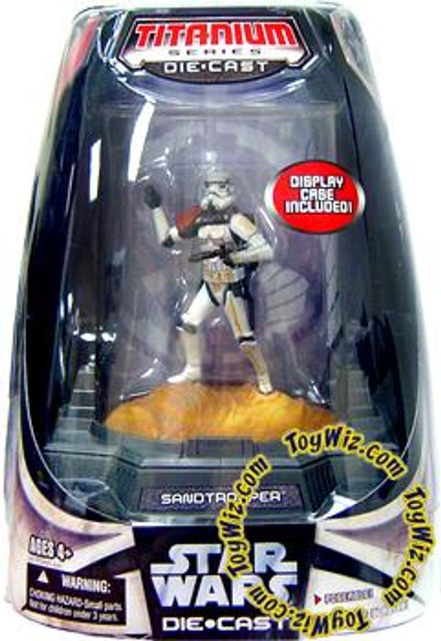 Star Wars A New Hope Titanium Series 2007 Sandtrooper Diecast Figure [Full Color Finish]