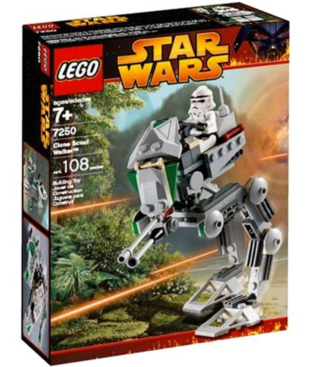 LEGO Star Wars Revenge of the Sith Clone Scout Walker Set #7250