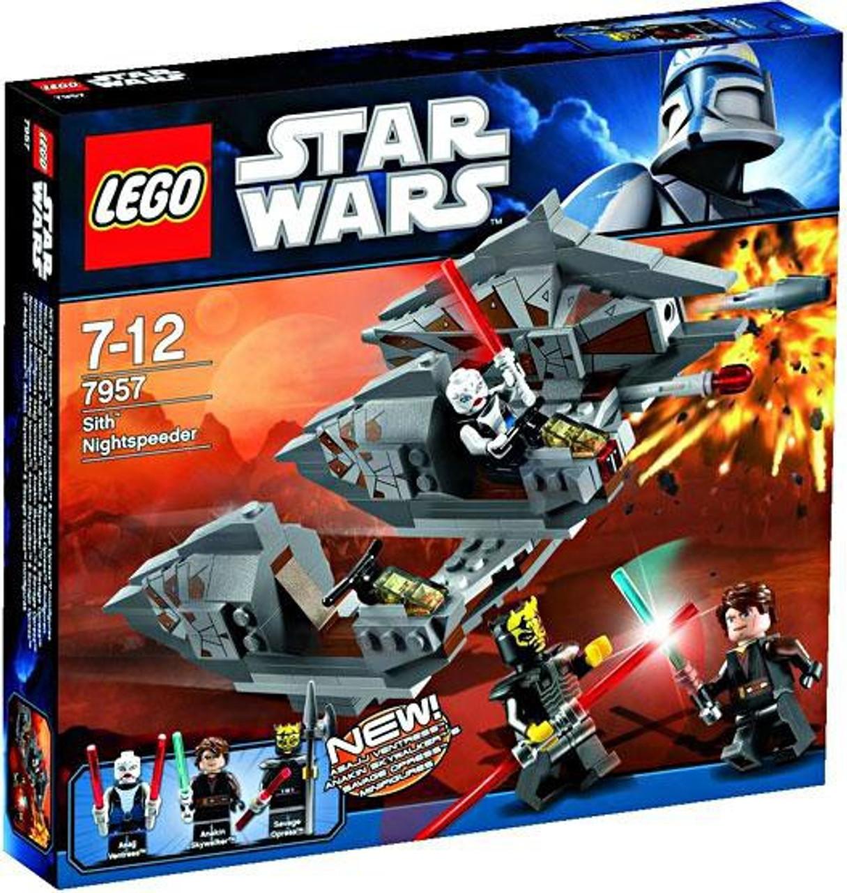 LEGO Star Wars The Clone Wars Sith Nightspeeder Set #7957