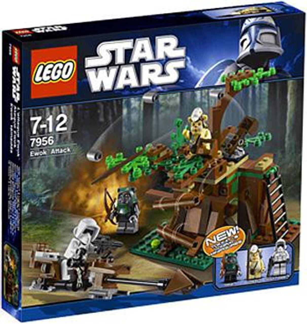 LEGO Star Wars Return of the Jedi Ewok Attack Set #7956