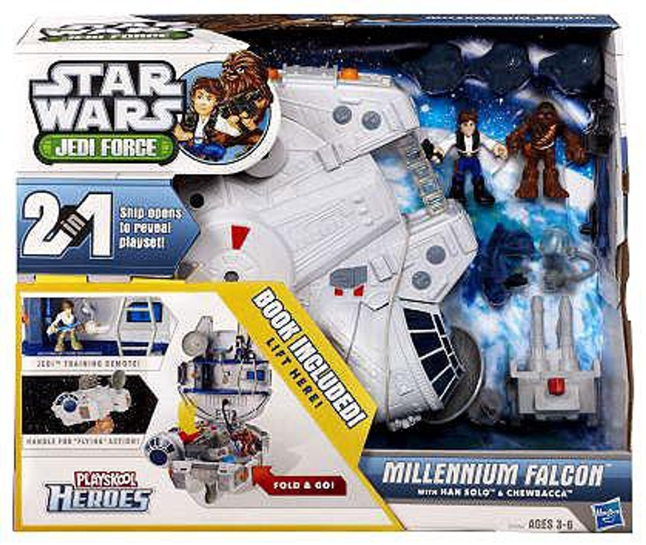 Star Wars Jedi Force Millennium Falcon Vehicle