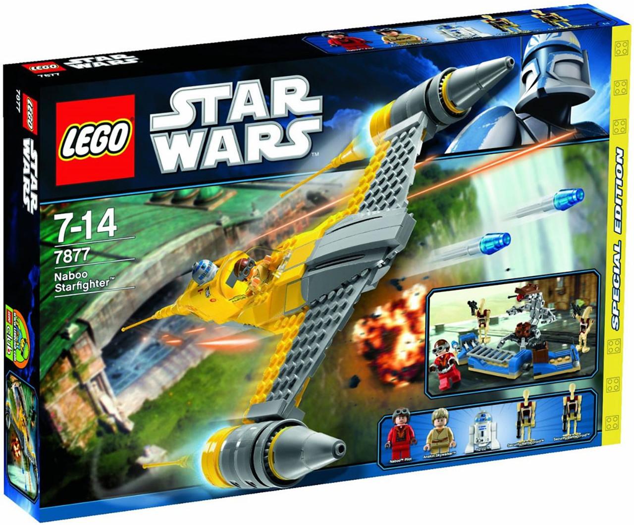 LEGO Star Wars The Phantom Menace Naboo Starfighter Exclusive Set #7877
