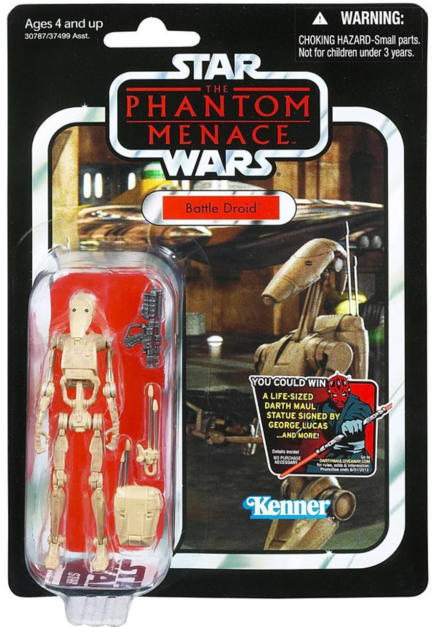 Star Wars The Phantom Menace Vintage Collection 2012 Battle Droid Action Figure #78