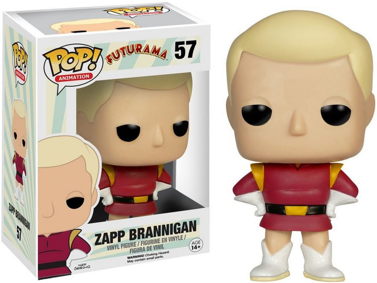Funko Futurama Pop Animation Zapp Brannigan Vinyl Figure