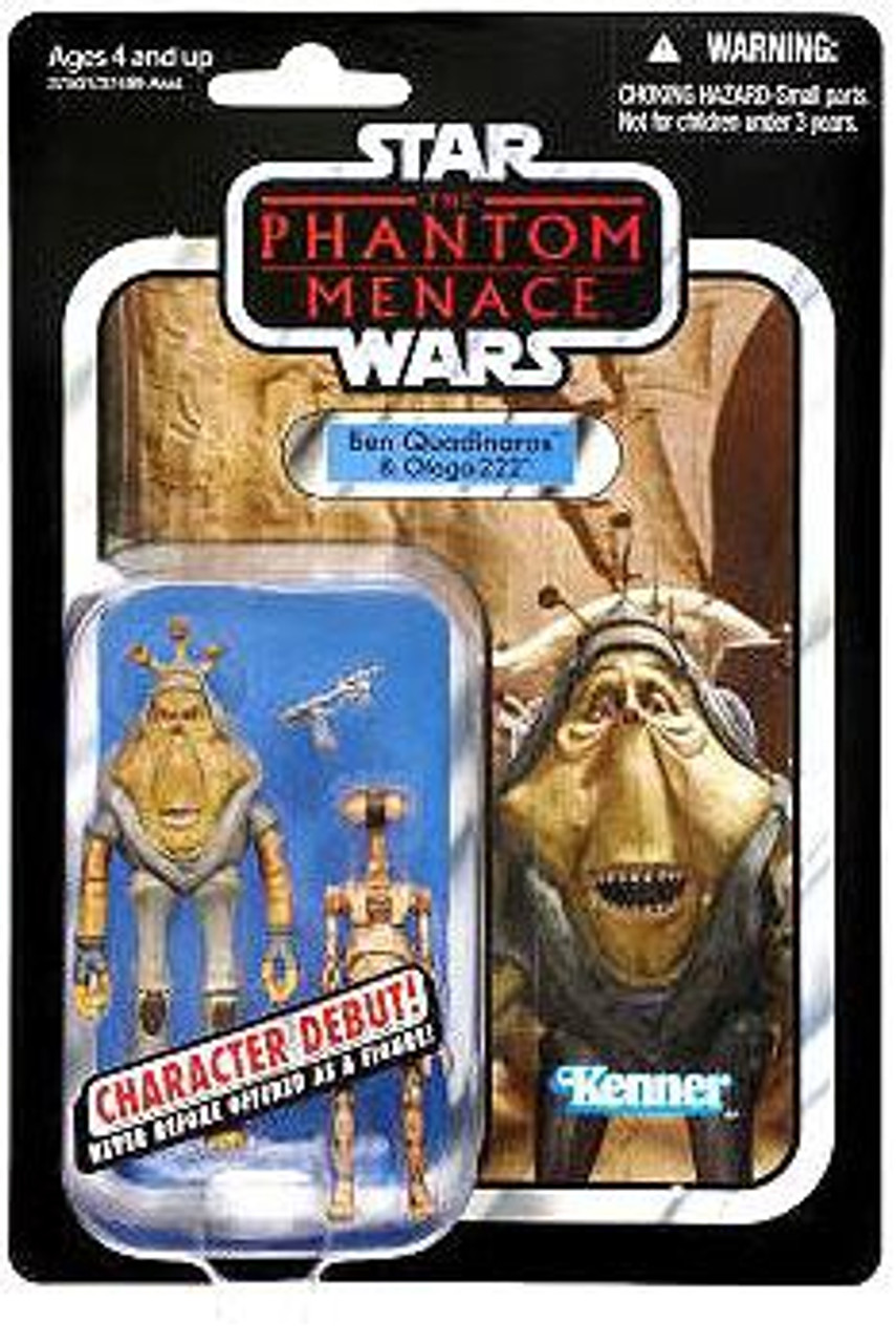 Star Wars The Phantom Menace Vintage Collection 2012 Ben Quadinaros & Pit Droid Action Figure 2-Pack #81