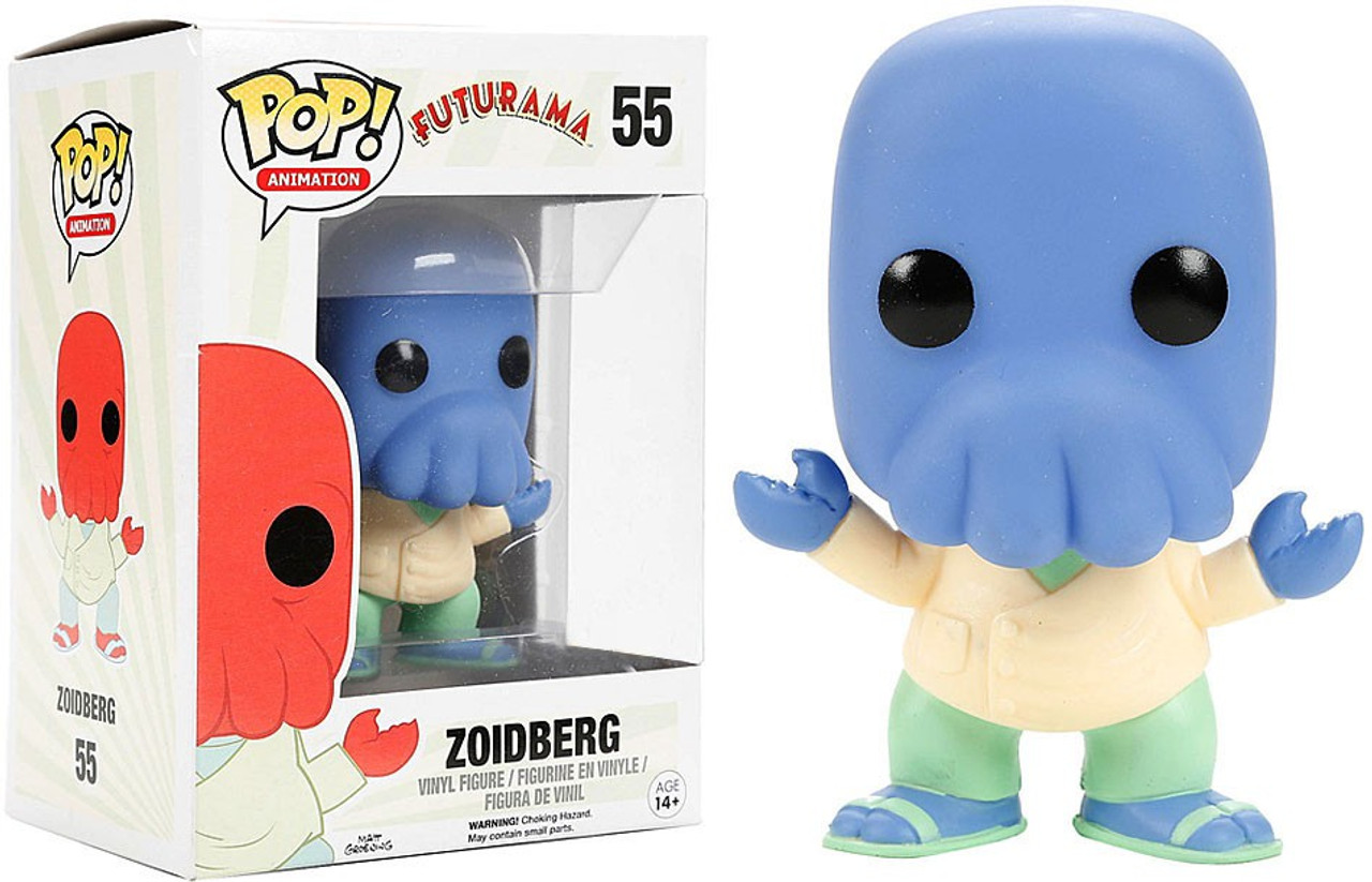 Funko Futurama Pop Animation Zoidberg Exclusive Vinyl