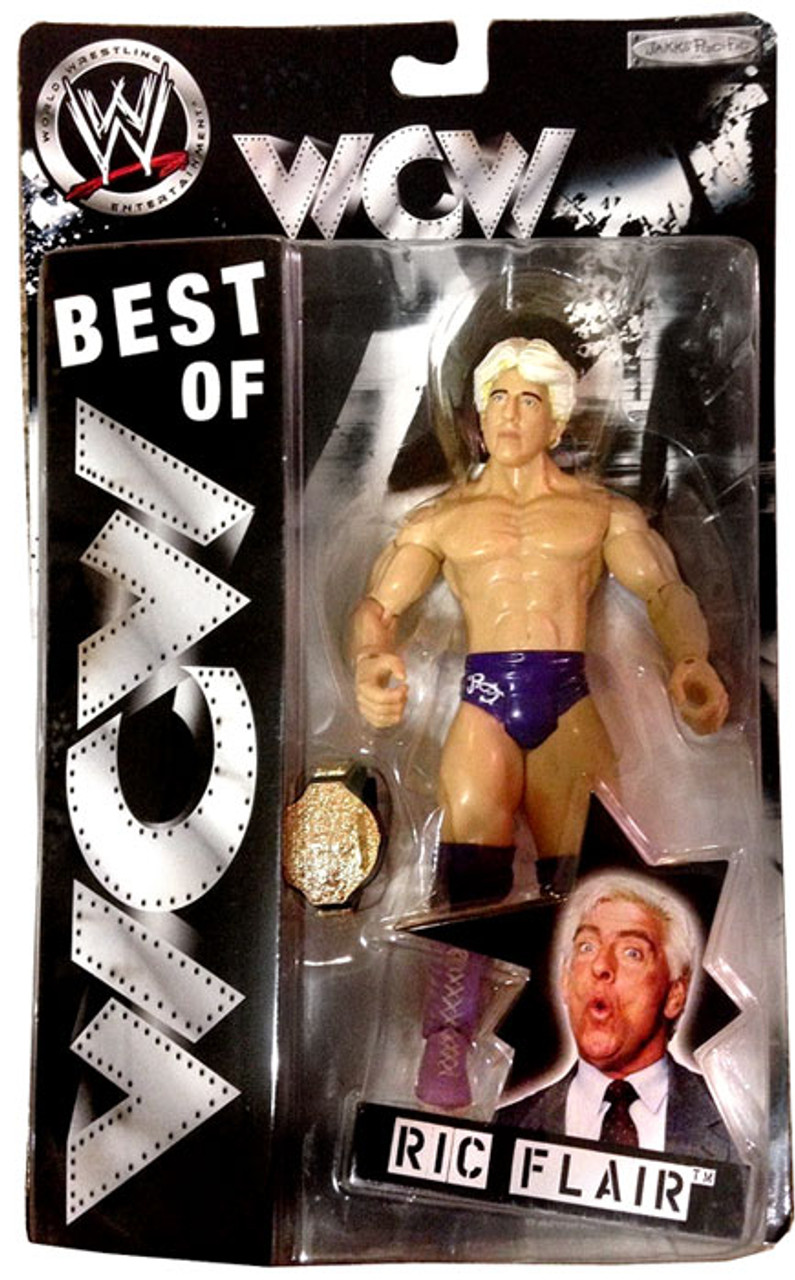 WWE Wrestling Best of WCW Ric Flair Action Figure