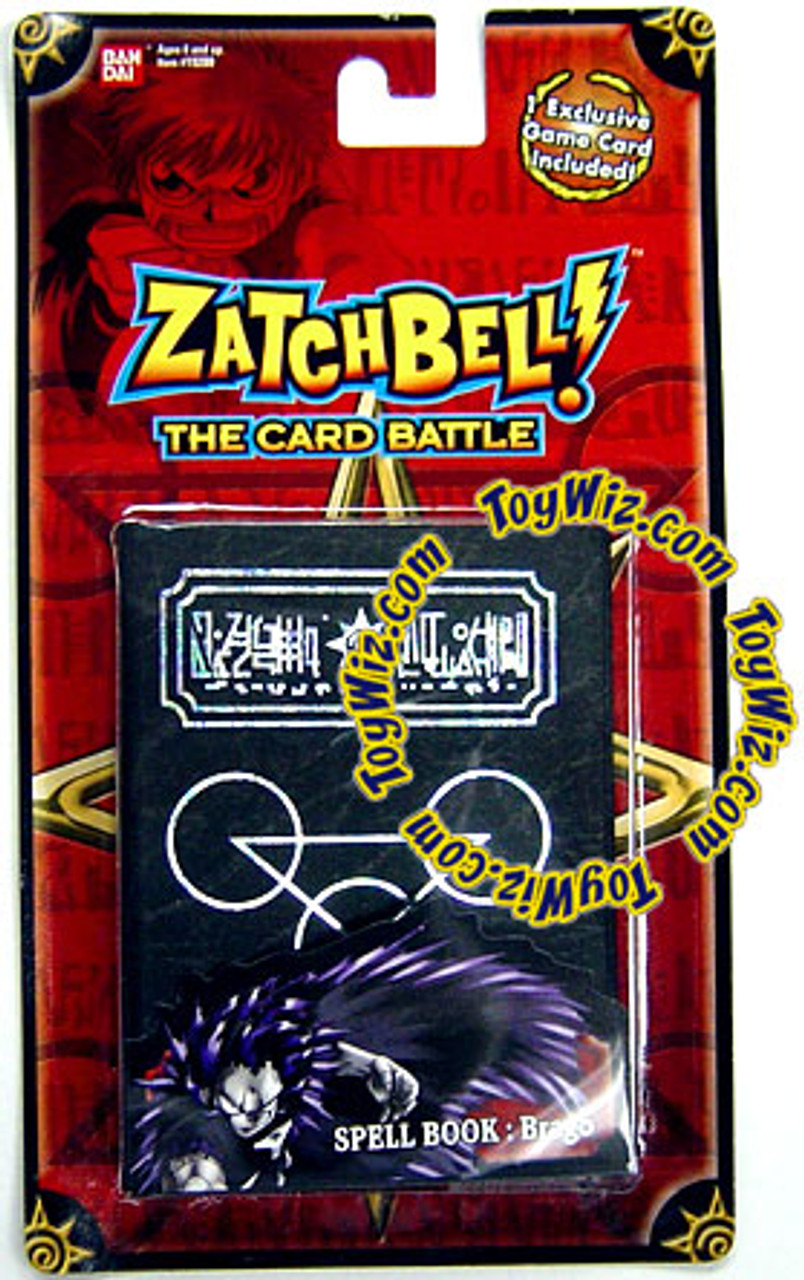 Zatch Bell The Card Battle Brago's Black Spell Book Set [Red Card]
