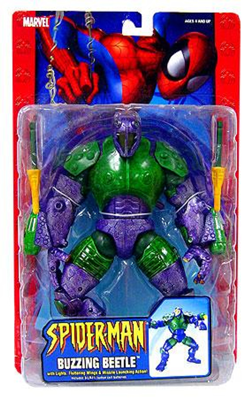 Spider-Man Buzzing Beetle Action Figure
