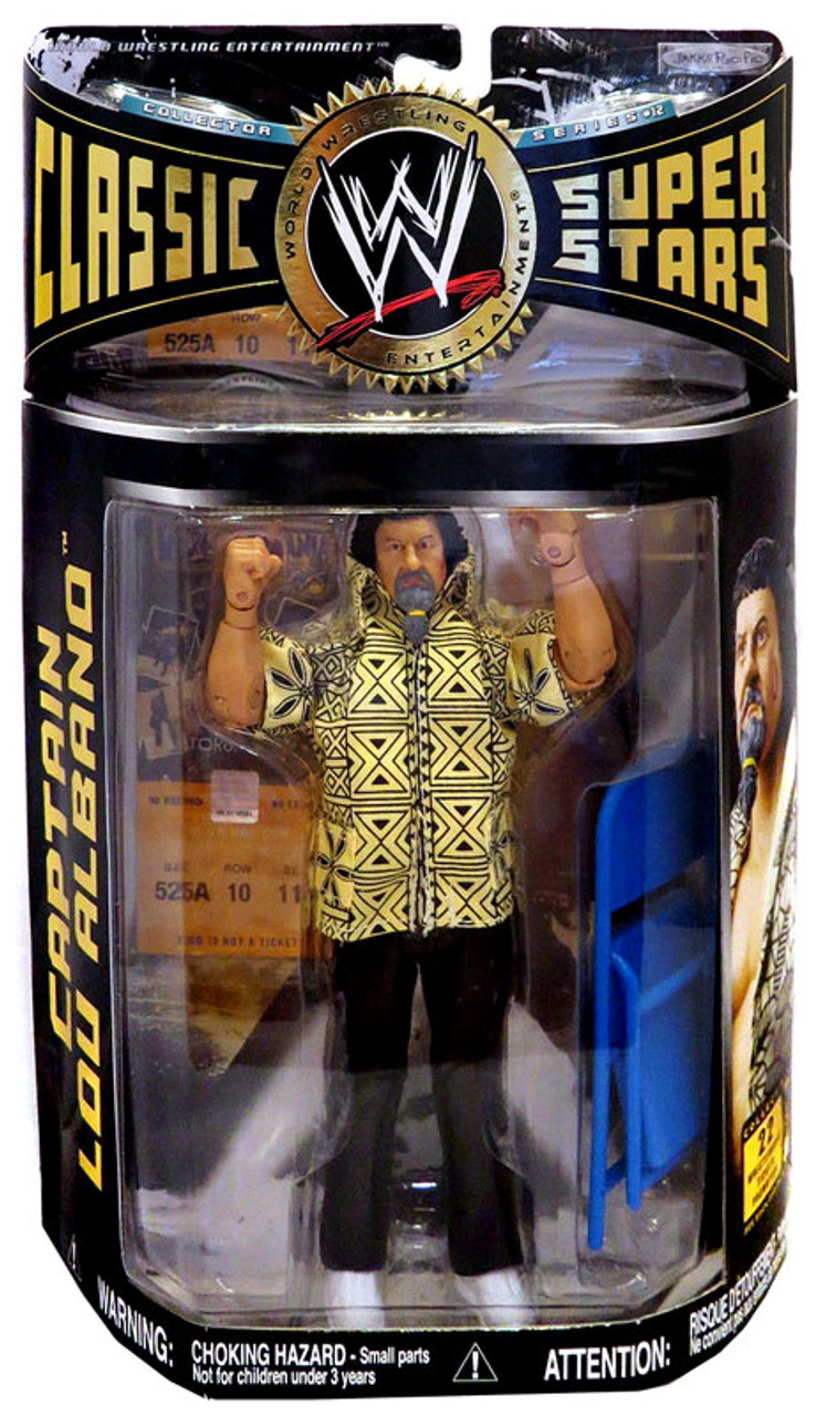 WWE Wrestling Classic Superstars Series 12 Captain Lou Albano Action Figure