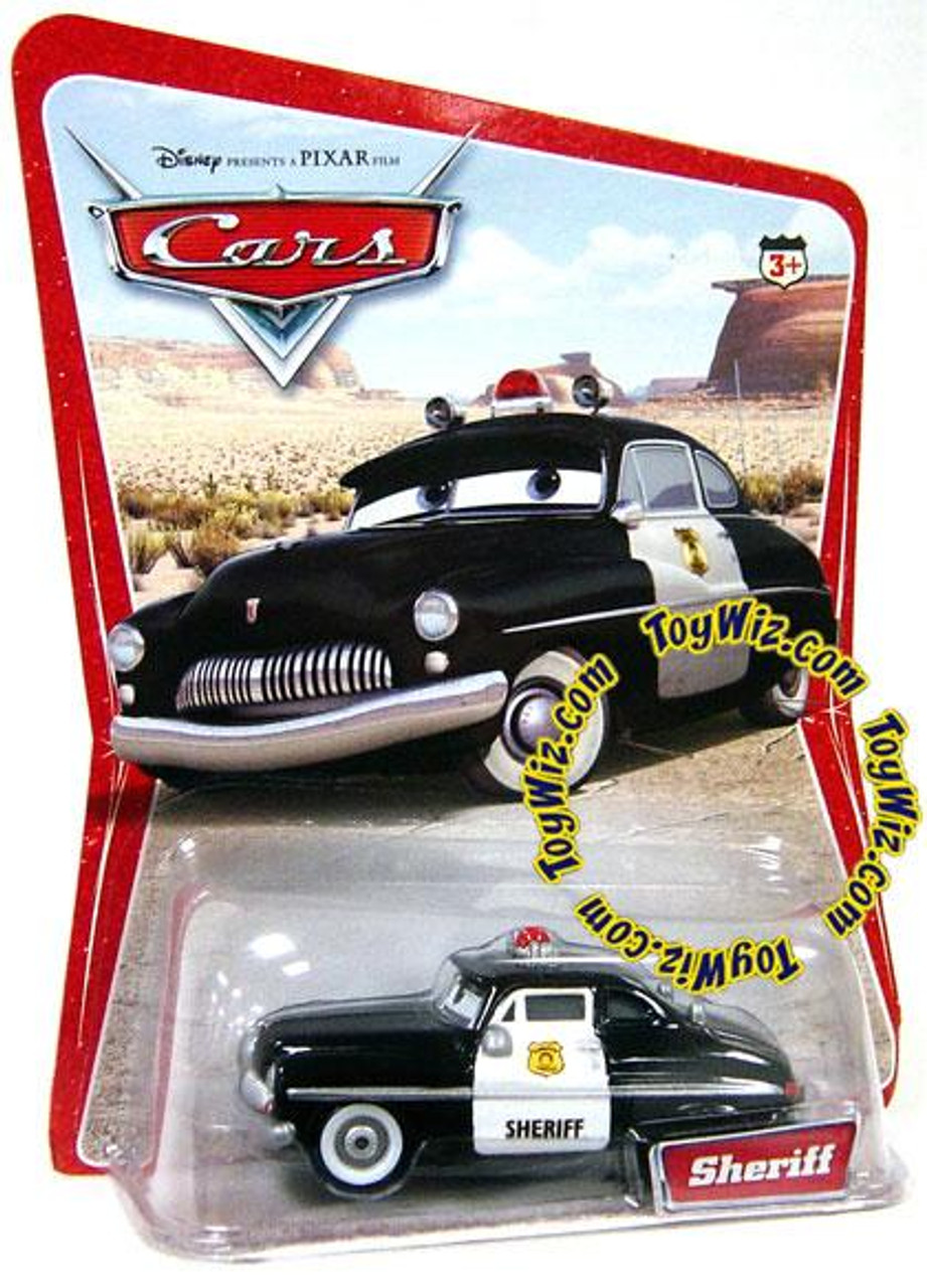 Disney Cars Sheriff Diecast Car