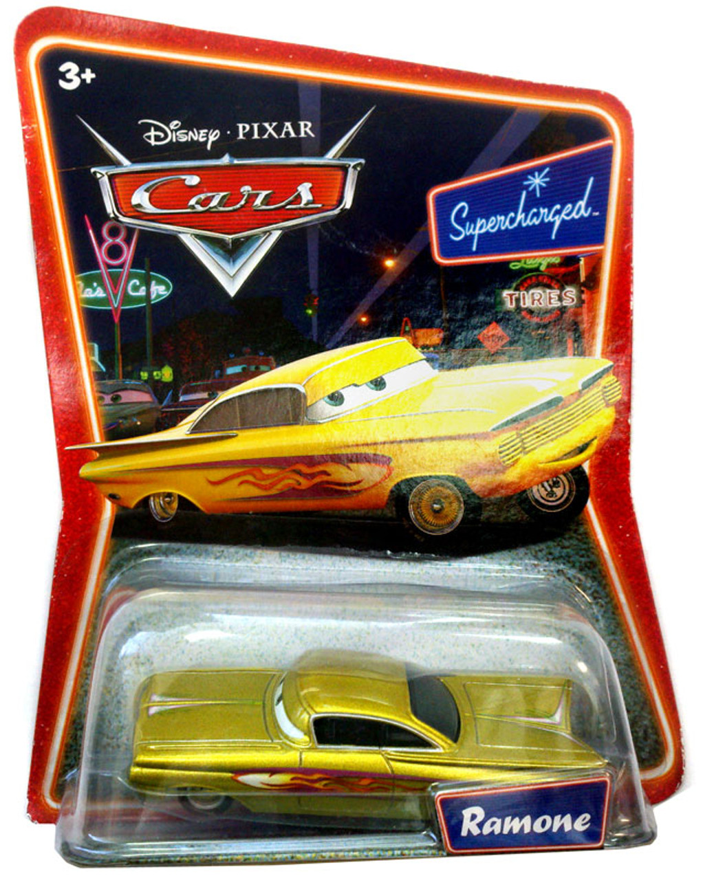 Disney Cars Supercharged Ramone Diecast Car [Gold]