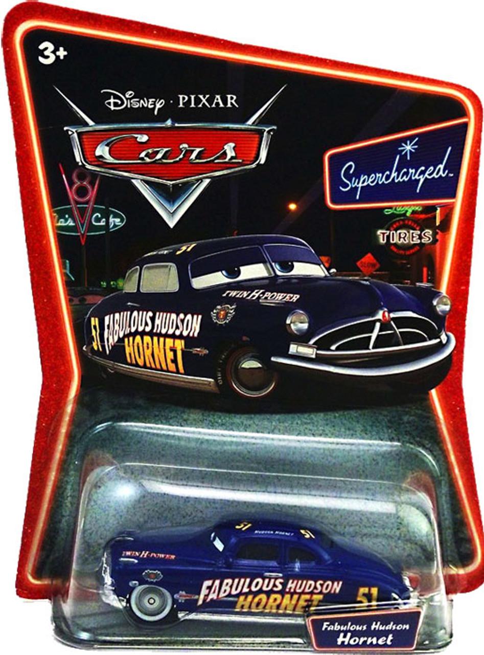 Disney Cars Supercharged Fabulous Hudson Hornet Diecast Car [Silver Hubcaps]