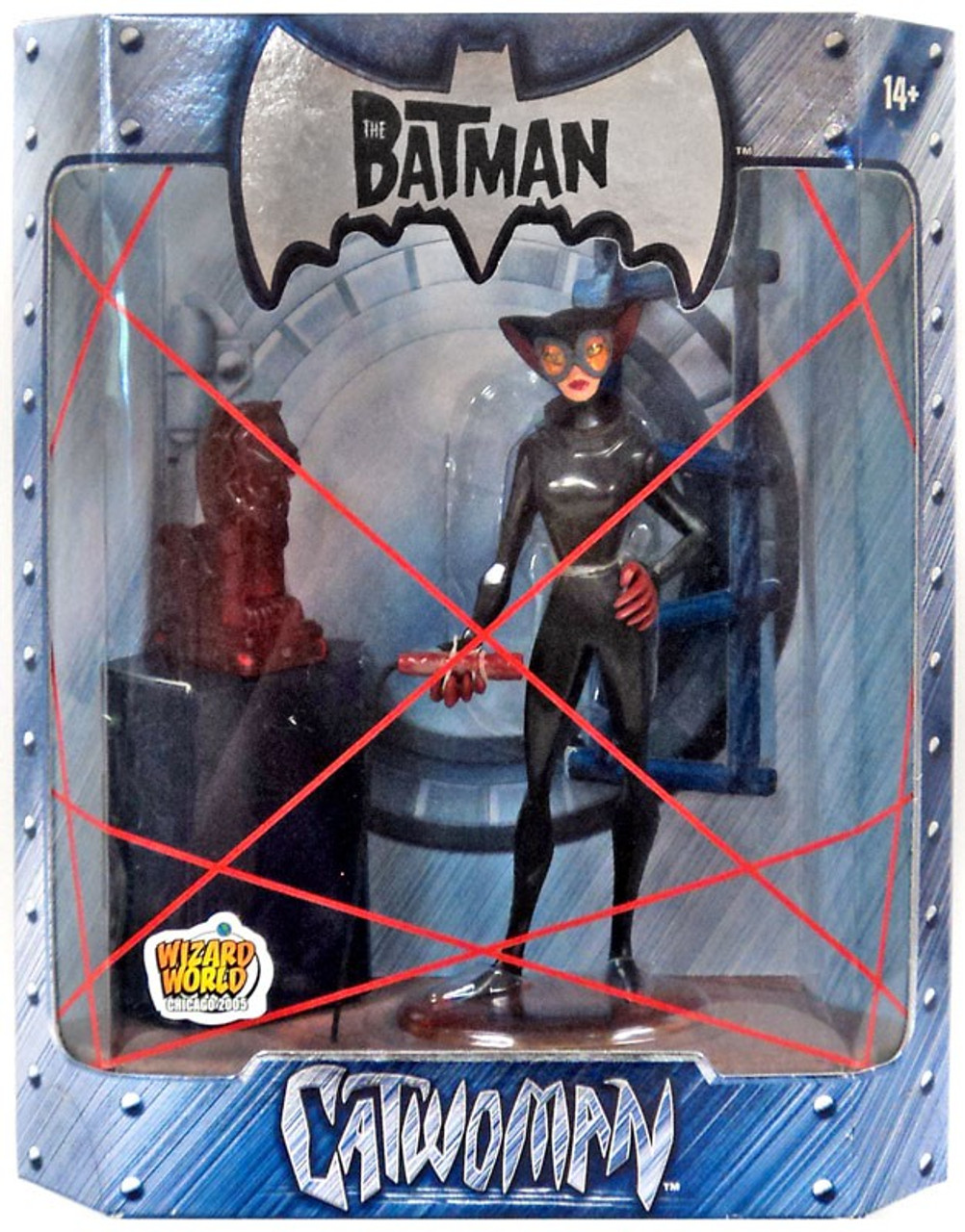 The Batman Catwoman Exclusive Action Figure [Ruby Statue Variant]