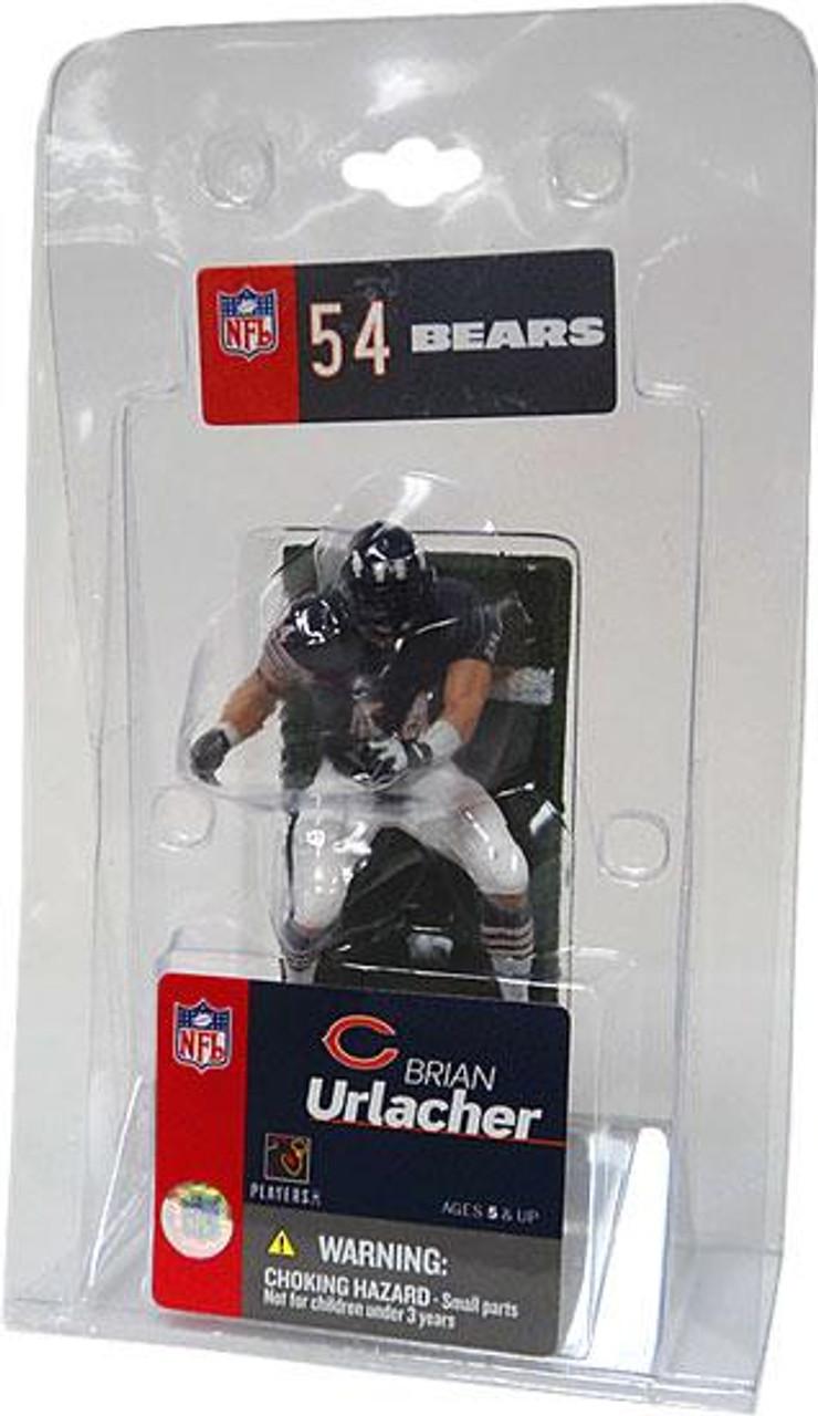 McFarlane Toys NFL Chicago Bears Sports Picks 3 Inch Mini Brian Urlacher Mini Figure